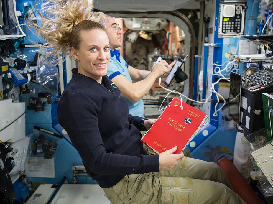 Kathleen Rubins crewed the International Space Station in 2016.