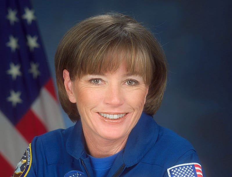 Anna Lee Fisher became the first mother in space Nov. 8, 1984