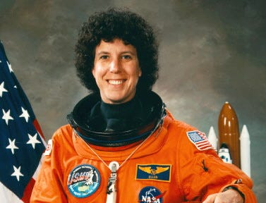 Ellen Baker flew on three missions between 1989 and 1995.