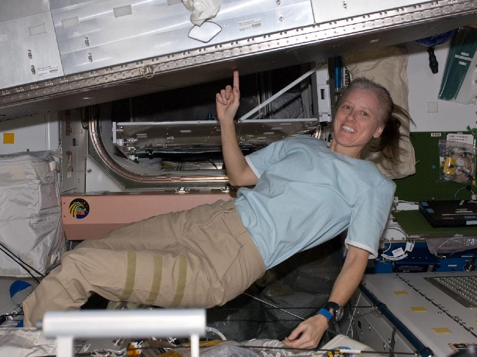 Shannon Walker flew aboard the International Space Station as part of the Expedition 24 crew in 2010.