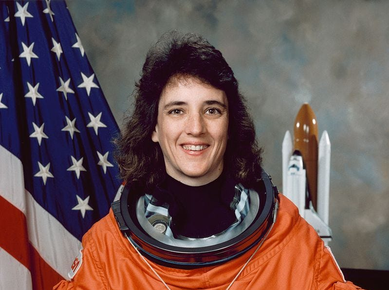 Nancy Currie flew on four missions between 1993 and 2002.