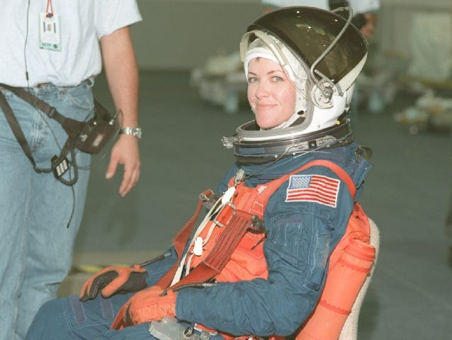 Janet Kavandi flew on three missions between 1998 and 2001.
