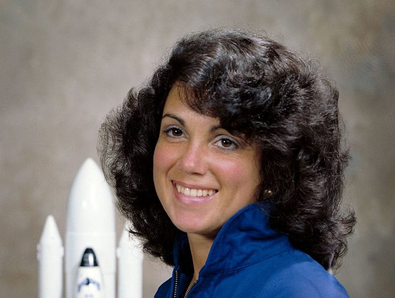 Judith Resnik was the second American woman in space. She was killed in 1986 Challenger disaster.