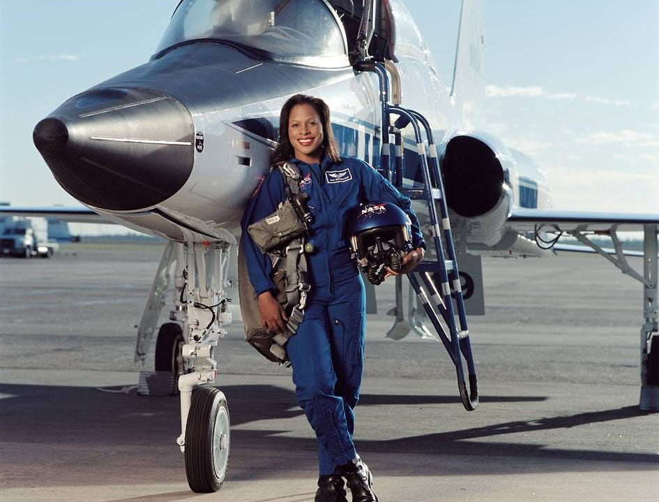 Joan Higginbotham flew aboard Space Shuttle Discovery as a mission specialist in 2006.