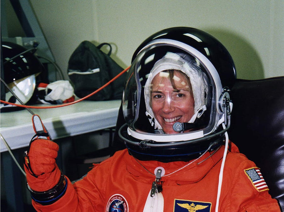 Susan Kilrain became the second female shuttle pilot when she flew aboard Space Shuttle Columbia on Jul. 1, 1997.