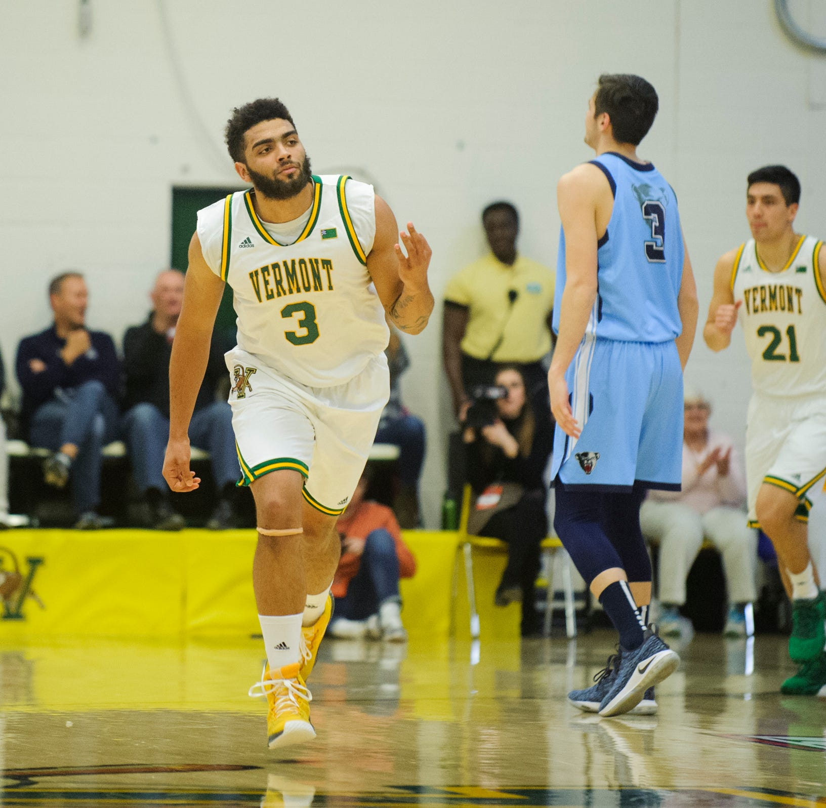 Lamb drops 34 points as UVM basketball ousts Maine in America East quarterfinals