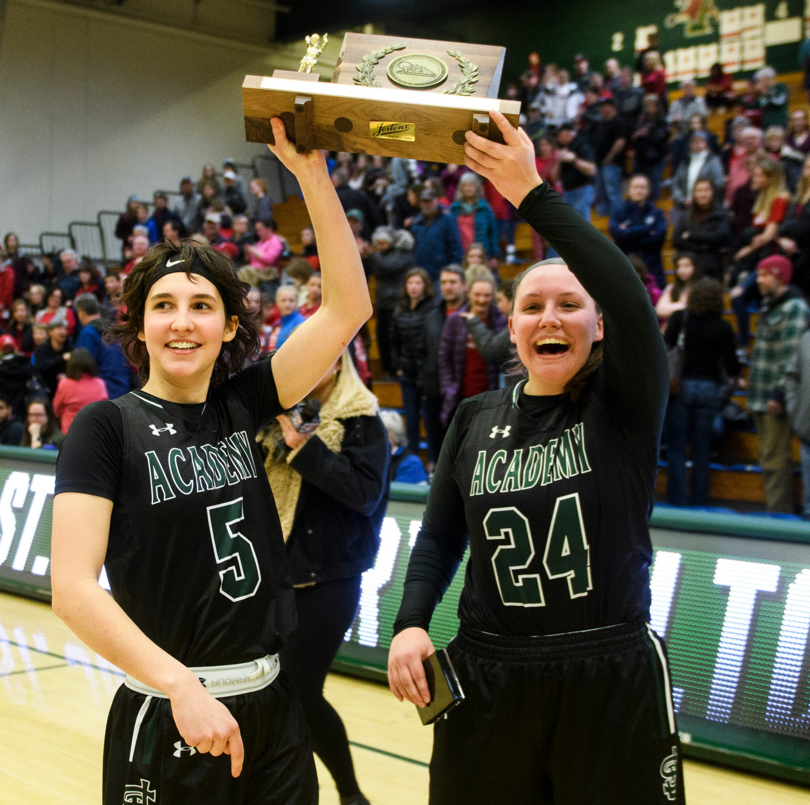St. Johnsbury solves CVU again to retain D-I girls basketball crown