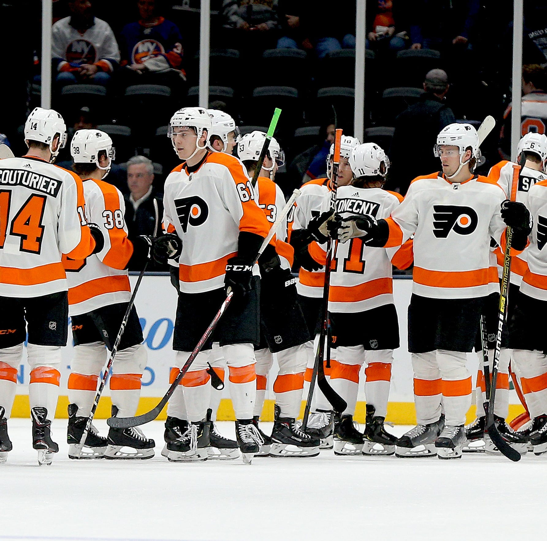 Flyers 5 takeaways: 'We're confident right now. We feel like we can play against anyone.'