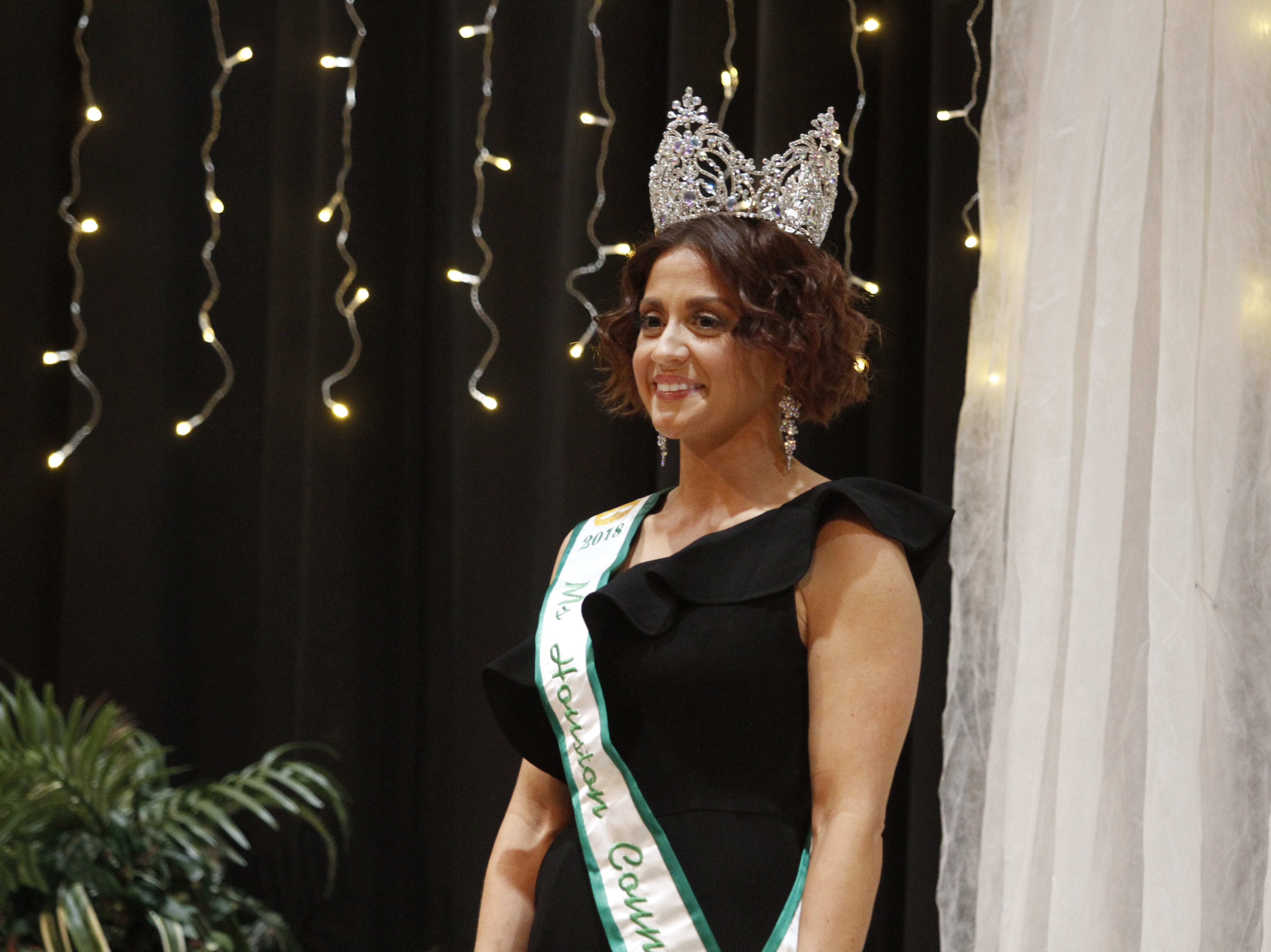 Outgoing Ms. Houston County 2018 Ashley Allsbrooks at the Houston County pageants on Saturday, March 9, 2019.