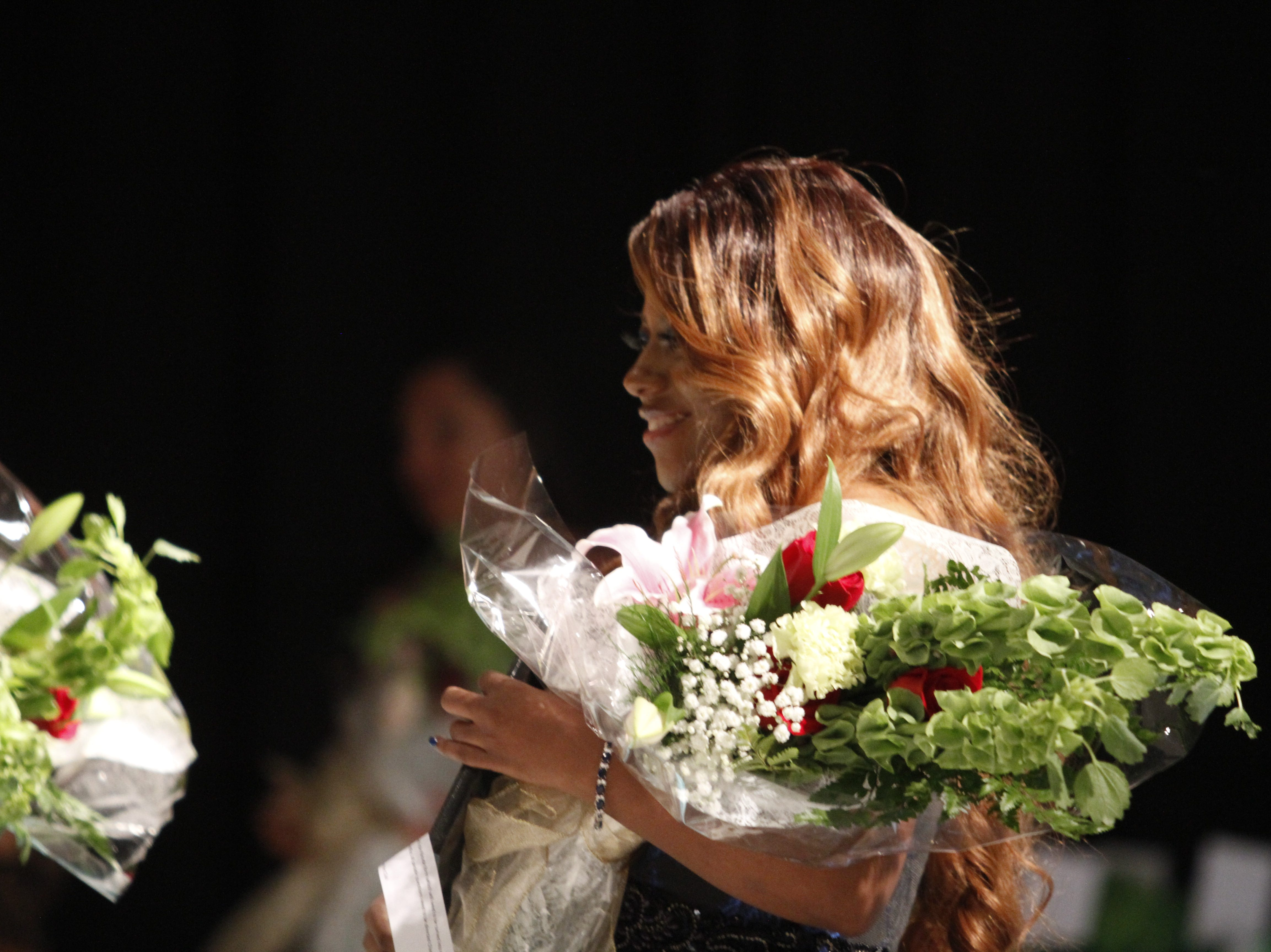 Shemika Askew, third runner-up in the 2019 Ms. Houston County competition on Saturday, March 9, 2019.
