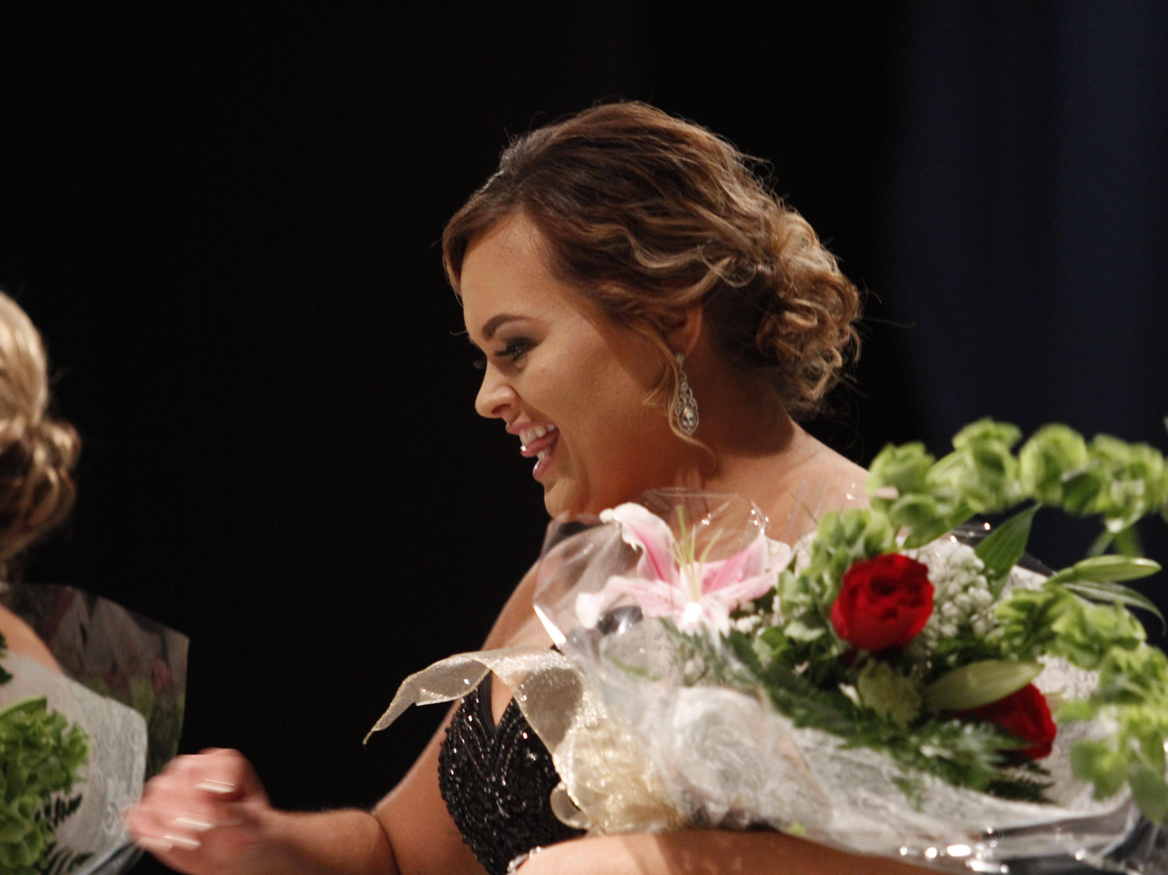 Ashley Dunavant Adkins, first runner-up in the 2019 Ms. Houston County competition on Saturday, March 9, 2019.