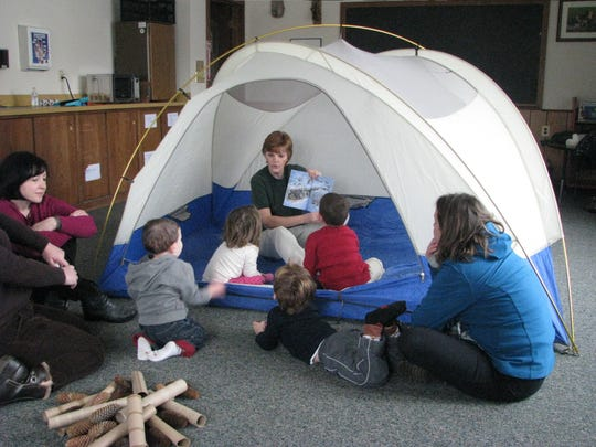 A Story Hour will be presented from 10 to 11:30 a.m. on Saturday, March 23, at The Somerset County Park Commission Environmental Education Center, 190 Lord Stirling Road in the Basking Ridge section of Bernards.
