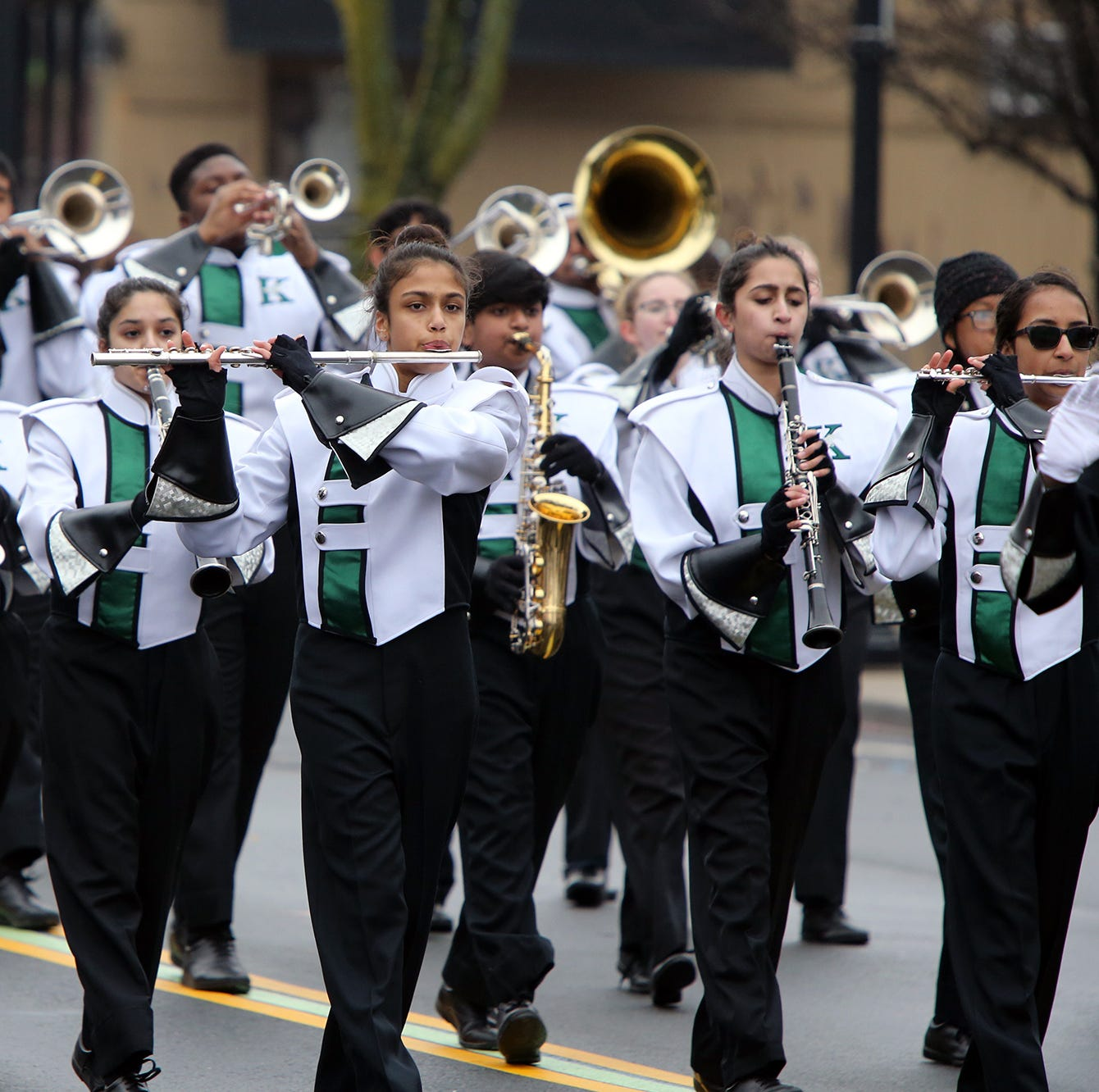 Woodbridge St. Patrick's Day Parade: Spirits not dampened by rain