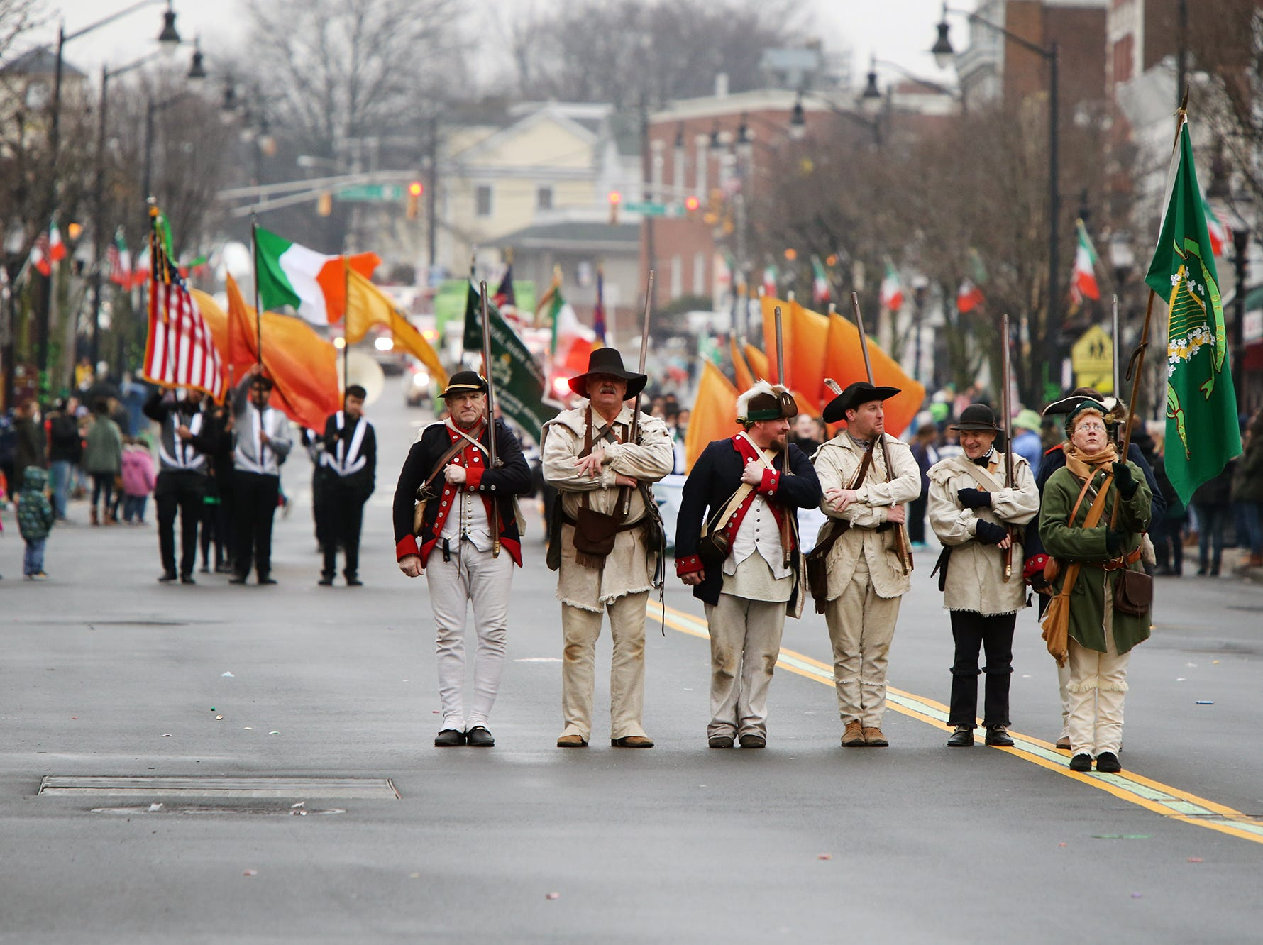 Woodbridge St. Patrick's Day Parade coming down Main St. Sunday March 10.