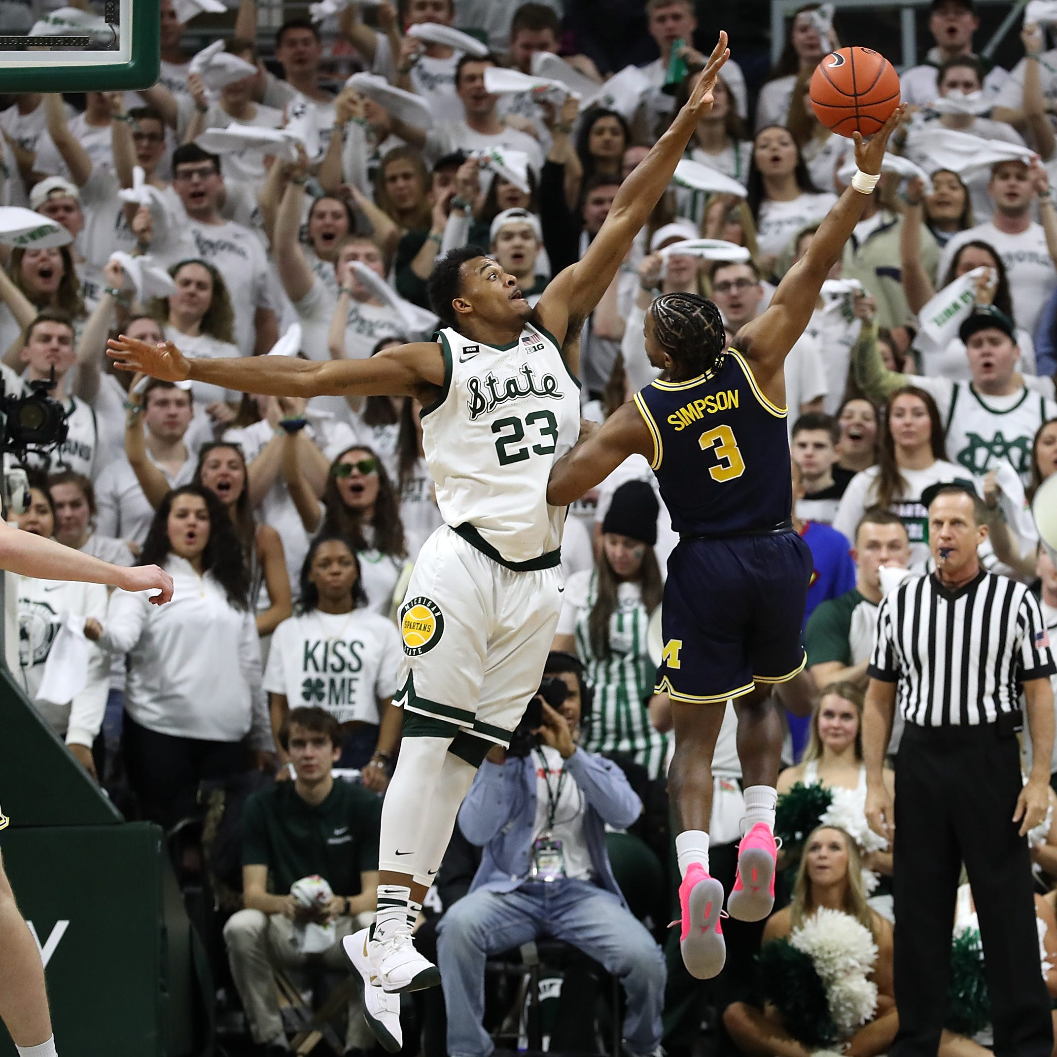 How Michigan State's Xavier Tillman totally blew up Michigan's offense