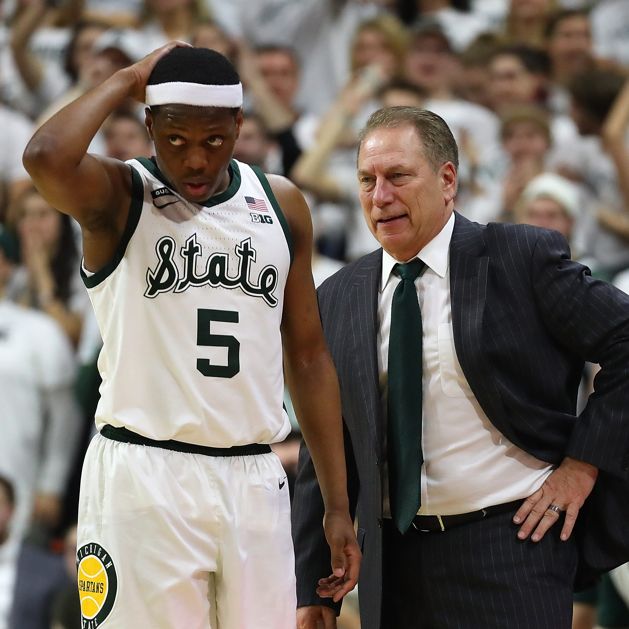 Time for Tom Izzo to reclaim March as his month. Saturday was a start