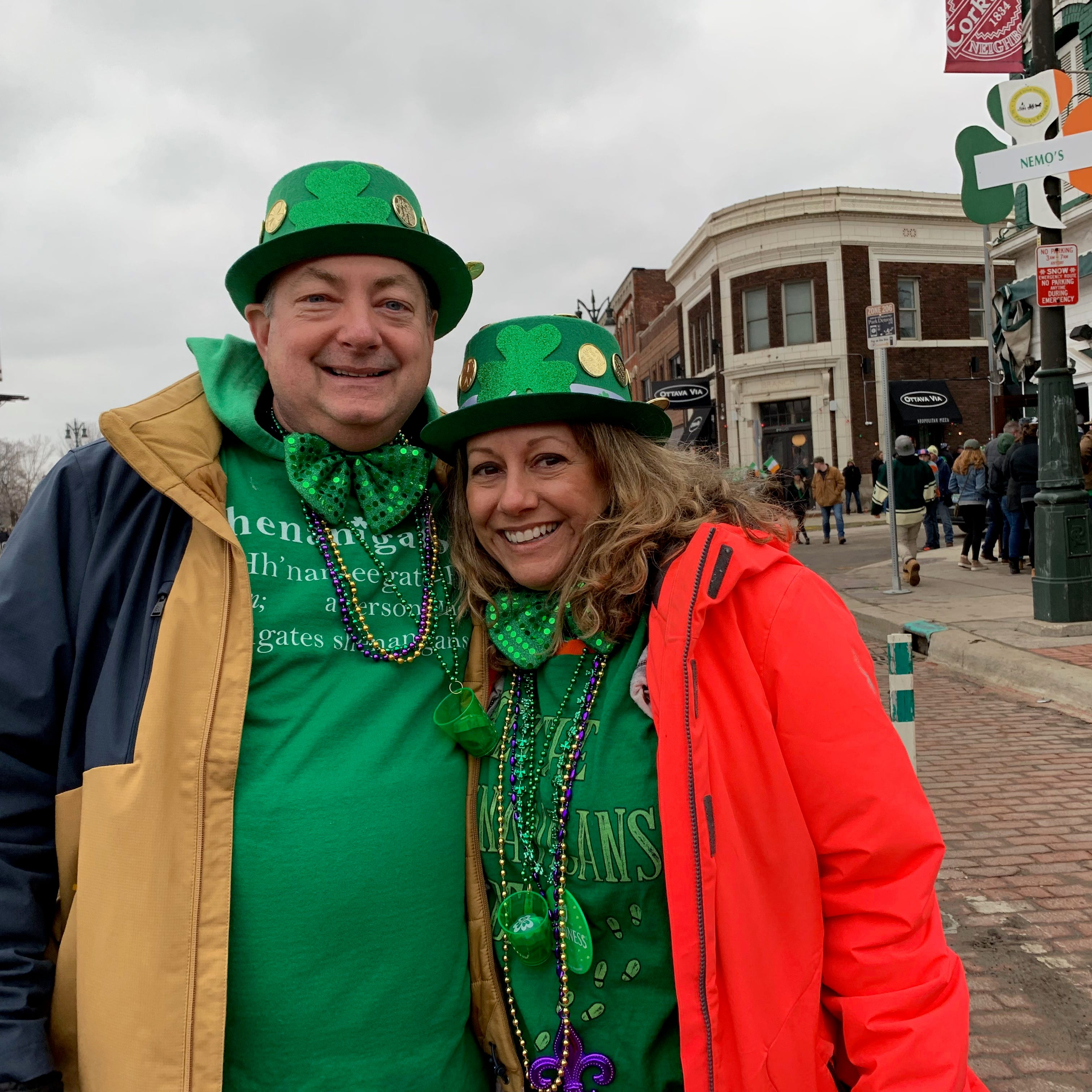 Folks clad in green keep tradition at Corktown's St. Patrick's Day Parade
