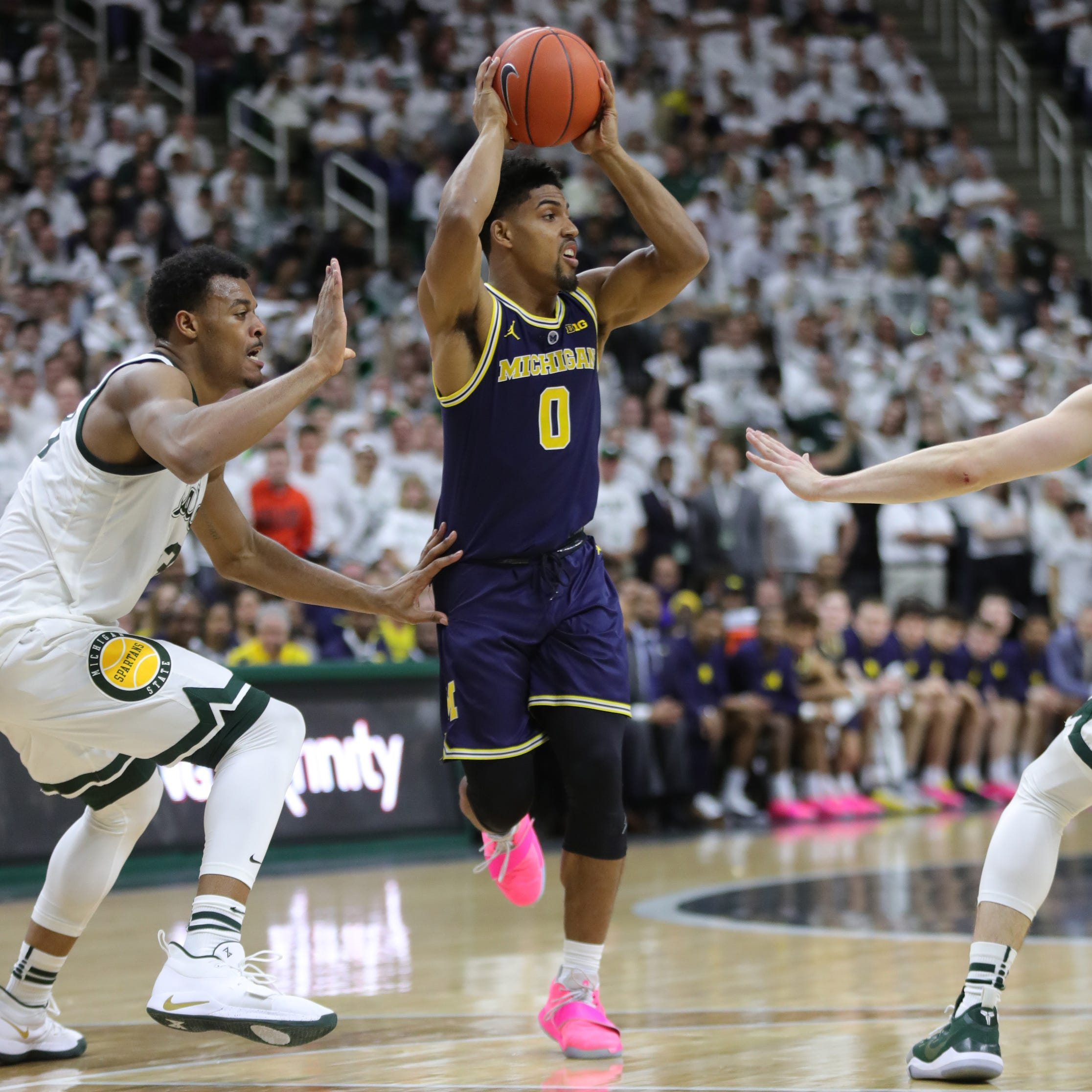 Michigan basketball collapses in 2nd half of loss to Michigan State, 75-63