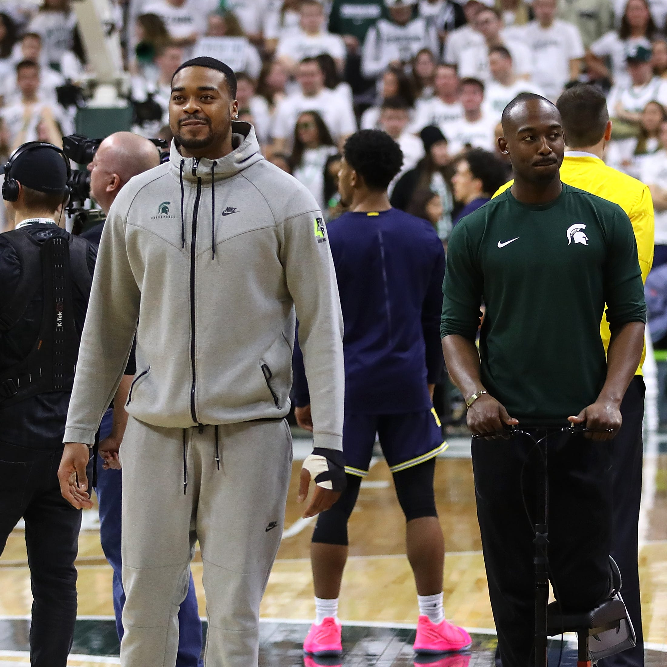 Nick Ward's Michigan State return: Top challenge won't be broken hand