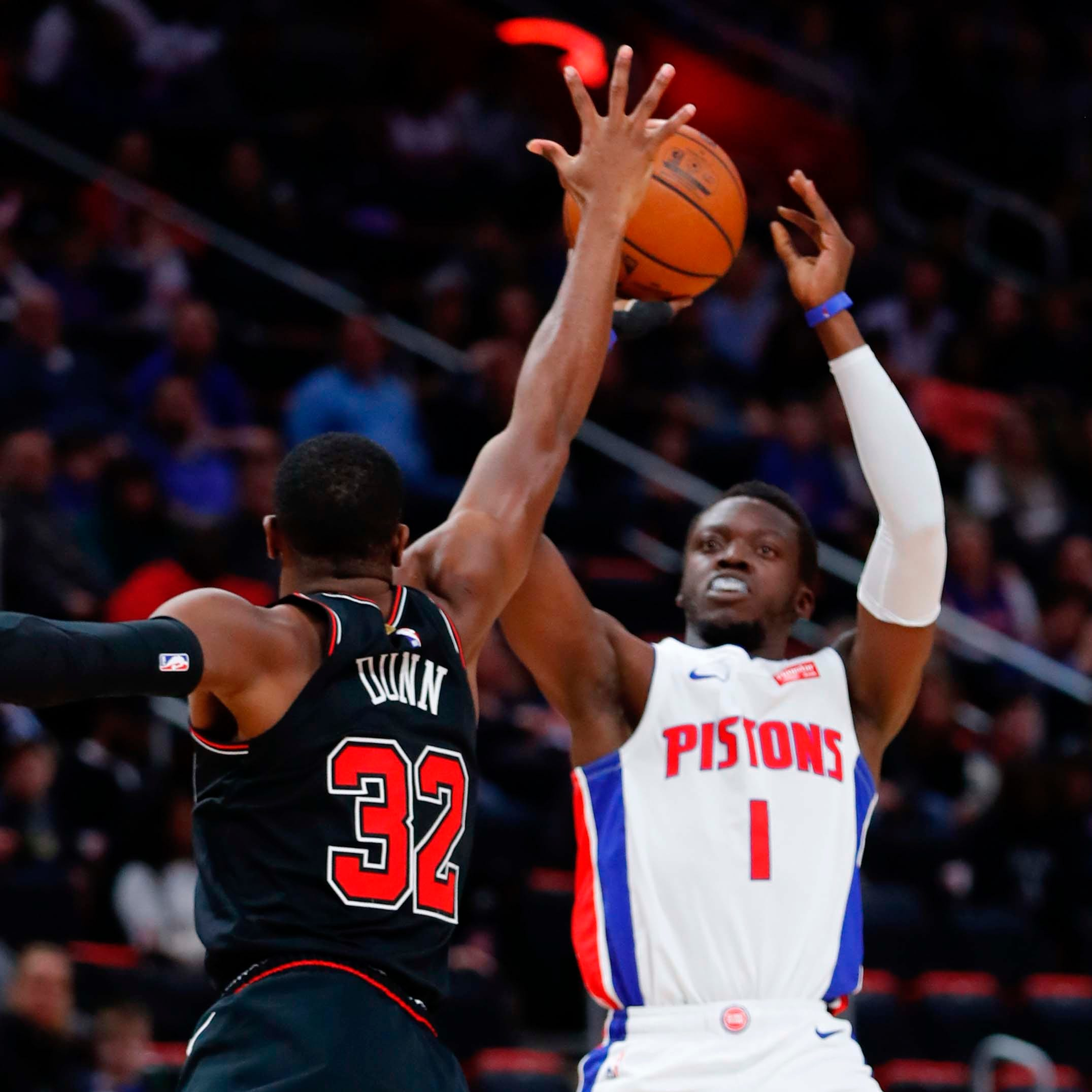 Detroit Pistons on fire from 3, blow out Chicago Bulls, 131-108