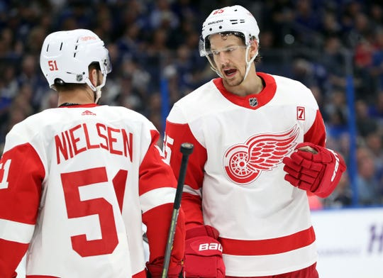 Danny DeKeyser wonders what the Detroit Red Wings defense corps will look like in 2019-20