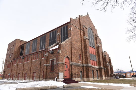 Dexter Avenue Baptist Church in Detroit celebrates it's 100th anniversary this year.