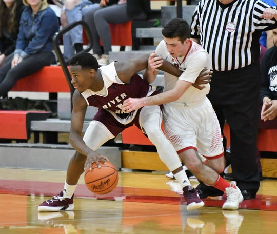 Donovan Freeman and River Rouge take on Haslett in a Division 2 quarterfinal on Tuesday.