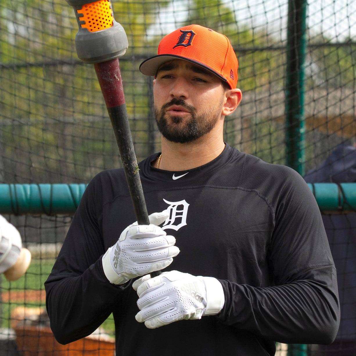 Castellanos, OK after being hit by pitch, open to extension talks with Tigers