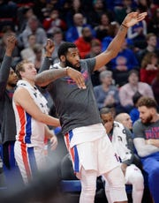 Andre Drummond and the Pistons are playing some of their best basketball of the season and promise to be a difficult opponent in the playoffs.