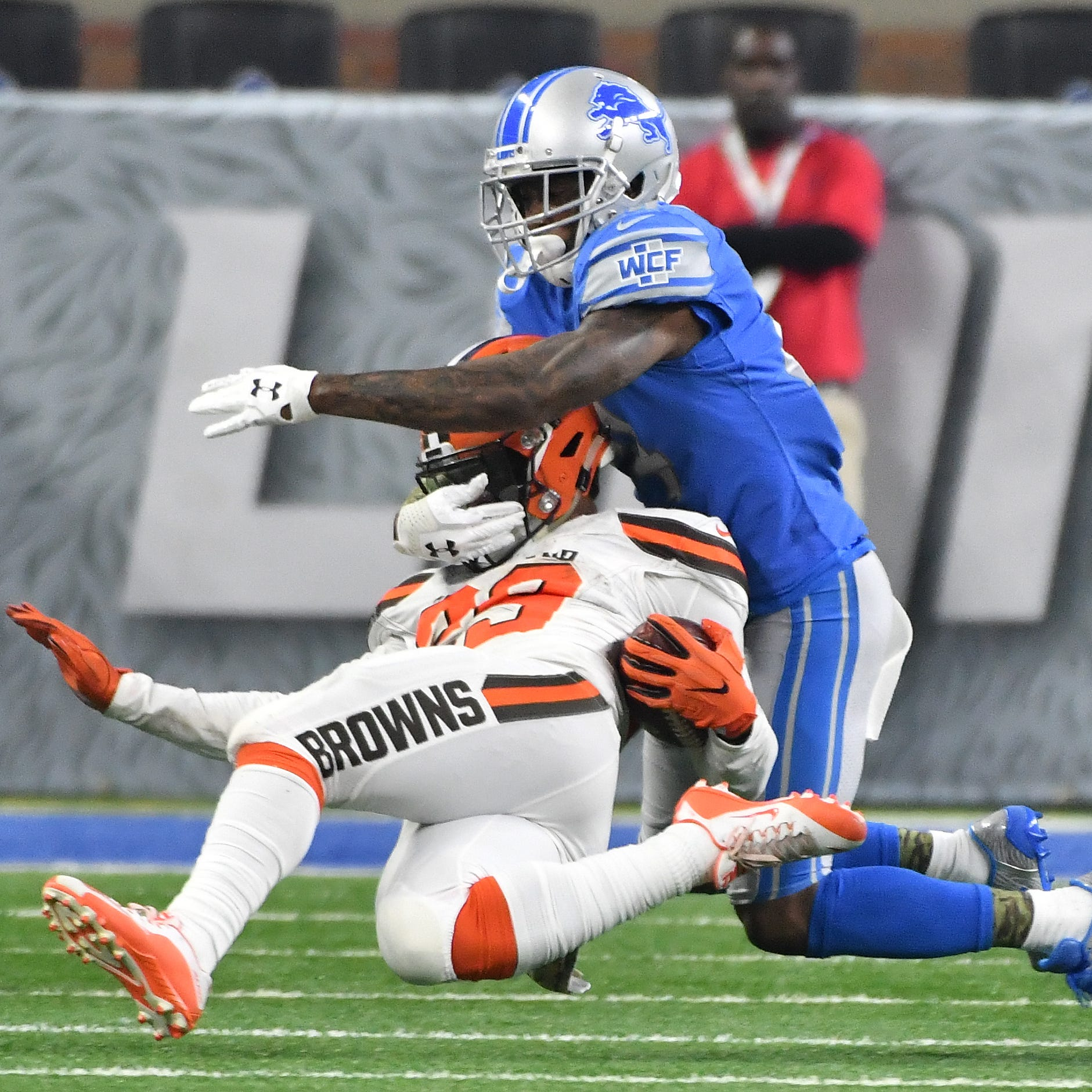 Reports: Lions releasing CB Nevin Lawson prior to start of free agency