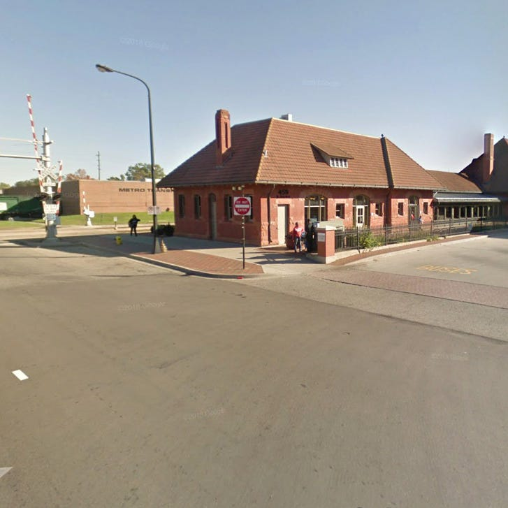 Kalamazoo man in stable condition after walking too close to train