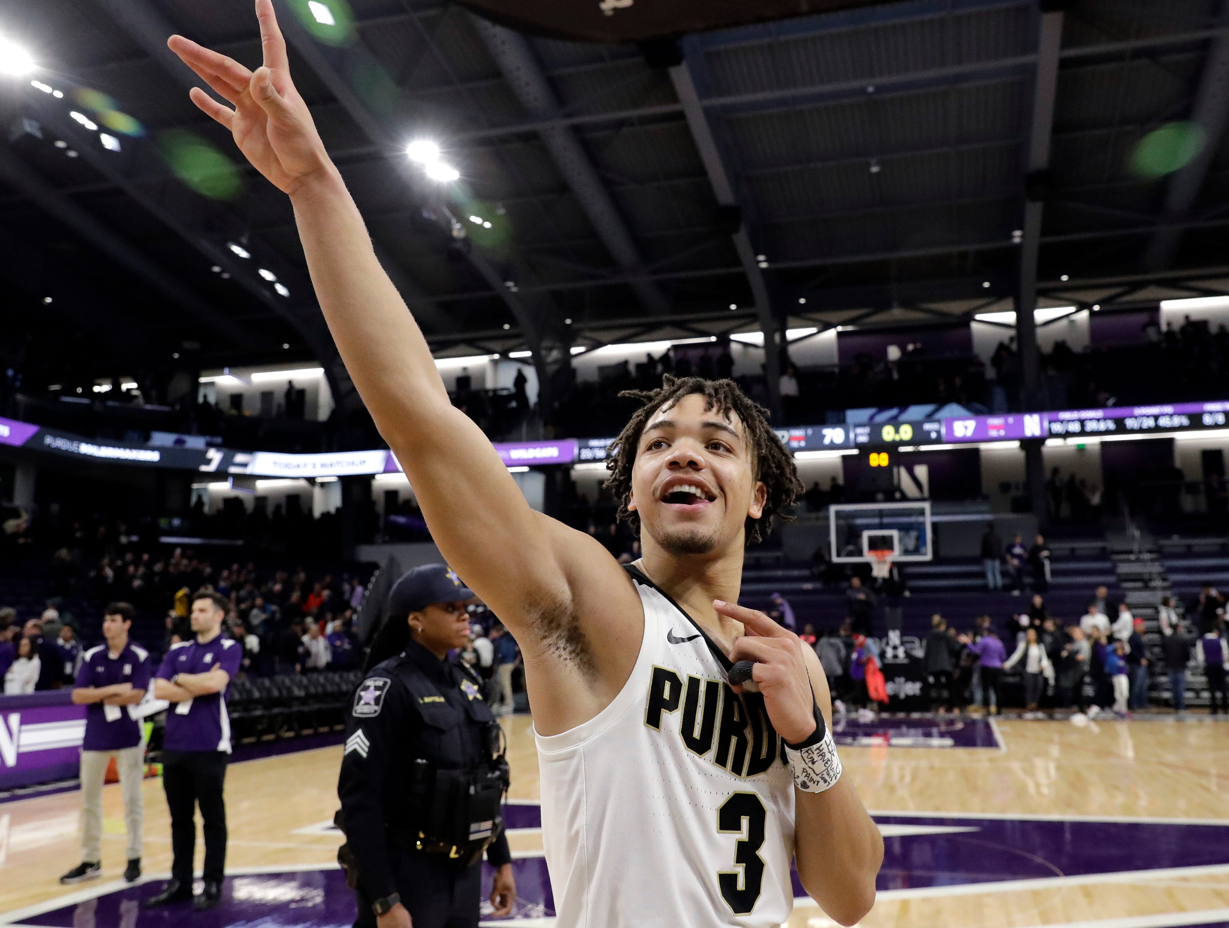 2. Purdue (23-8, 16-4): The Boilermakers had the outright championship in their hands but couldn't close the deal, losing on the road early in the week at Minnesota. They bounced back by taking care of business to knock off Northwestern and earn a share of the conference championship, capping off a season many didn't think would end with a Big Ten title and leaving Matt Painter as a potential coach of the year. Last week: 1.