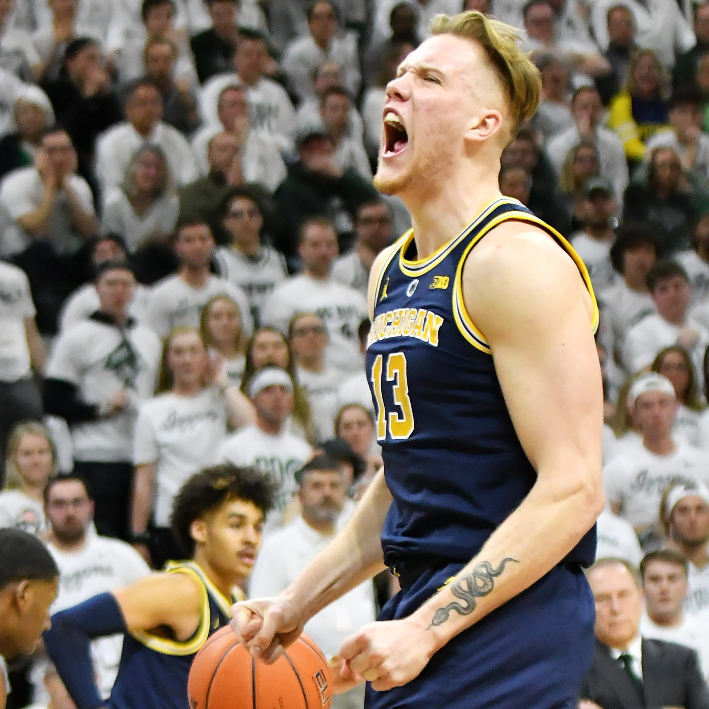 Ignas Brazdeikis's top freshman honor leads Michigan's Big Ten awards haul