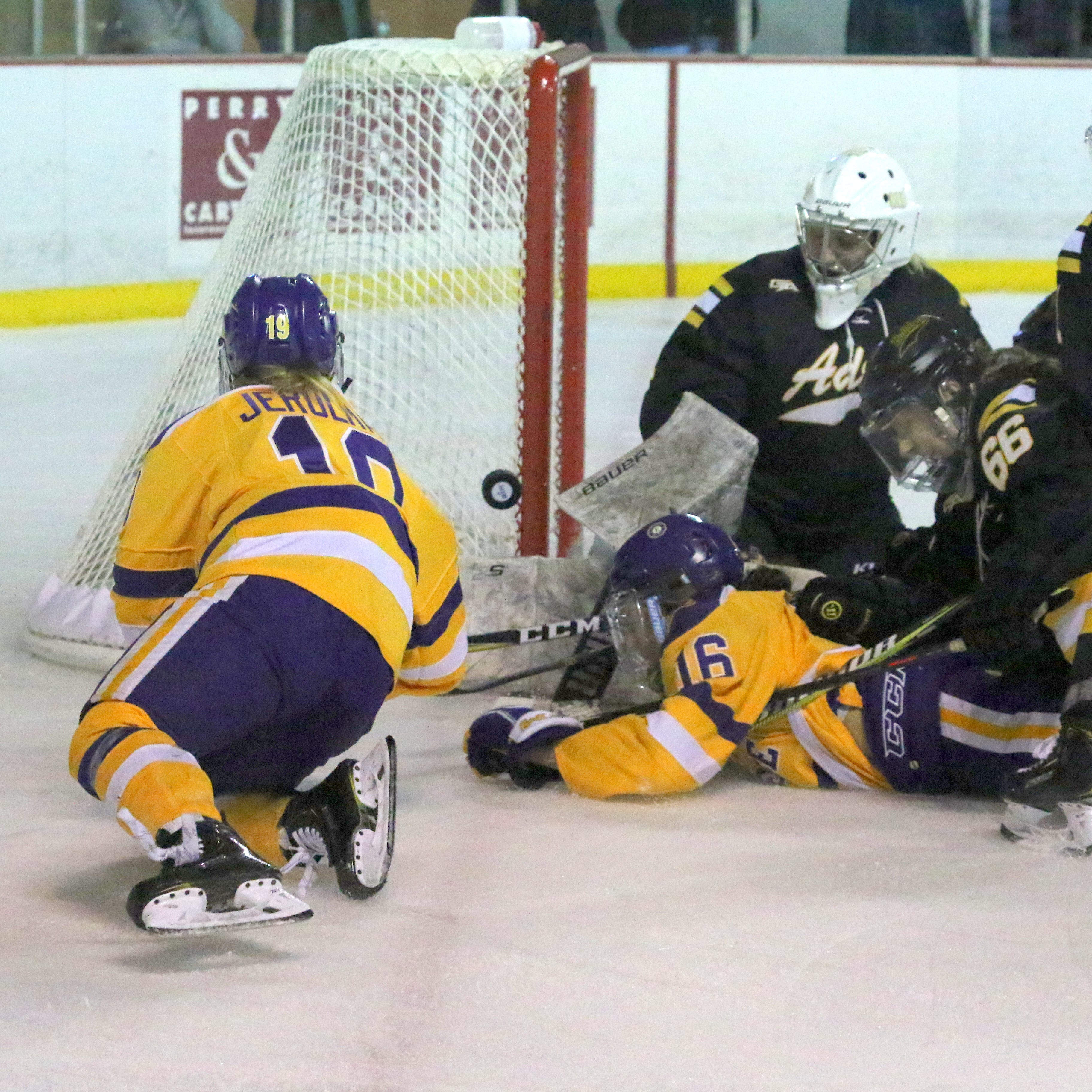 Adrian ends Elmira's season with overtime goal in Division III women's hockey quarterfinal