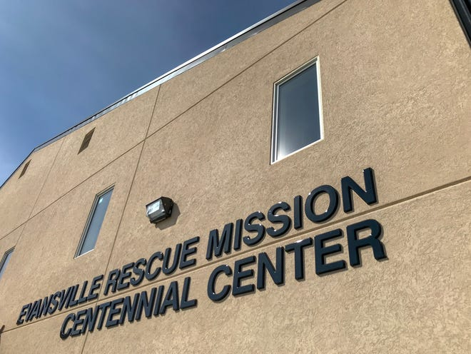 Evansville Rescue Mission's Centennial Center. March 10, 2019.