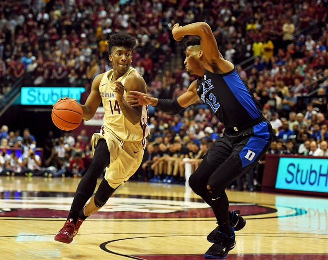 Senior guard Terance Mann and Florida State are projected as a No. 4 seed in the upcoming NCAA Tournament.