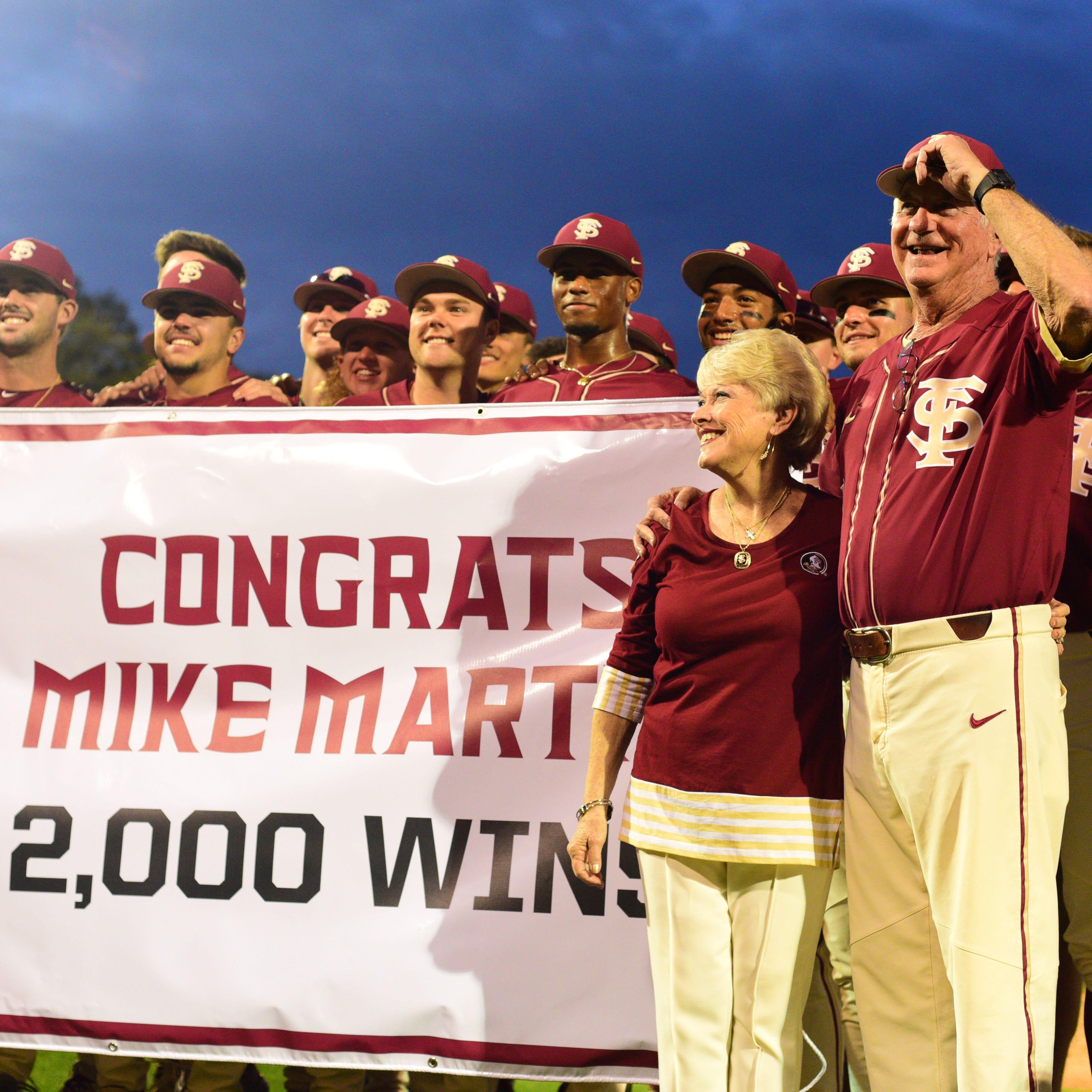 Mike Martin makes history