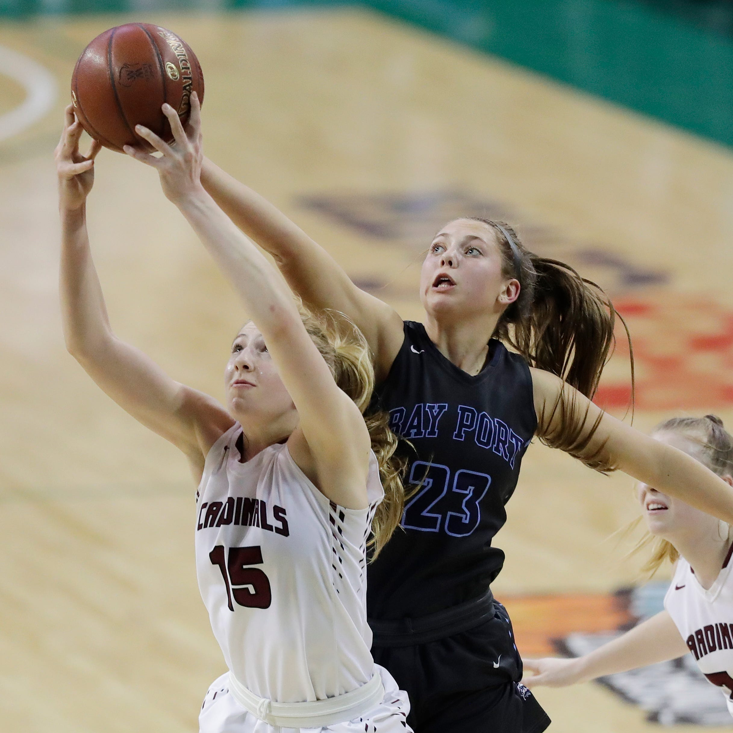 Bay Port's Nagel leads local players on AP all-state girls basketball team