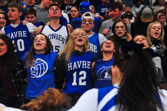 Havre and Hardin met in the championship game of the State A girls' basketball tournament last month at Pacific Steel and Recycling Four Seasons Arena.
