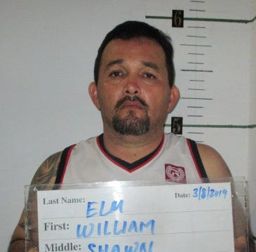 William Elm accused of trading drugs for power tools