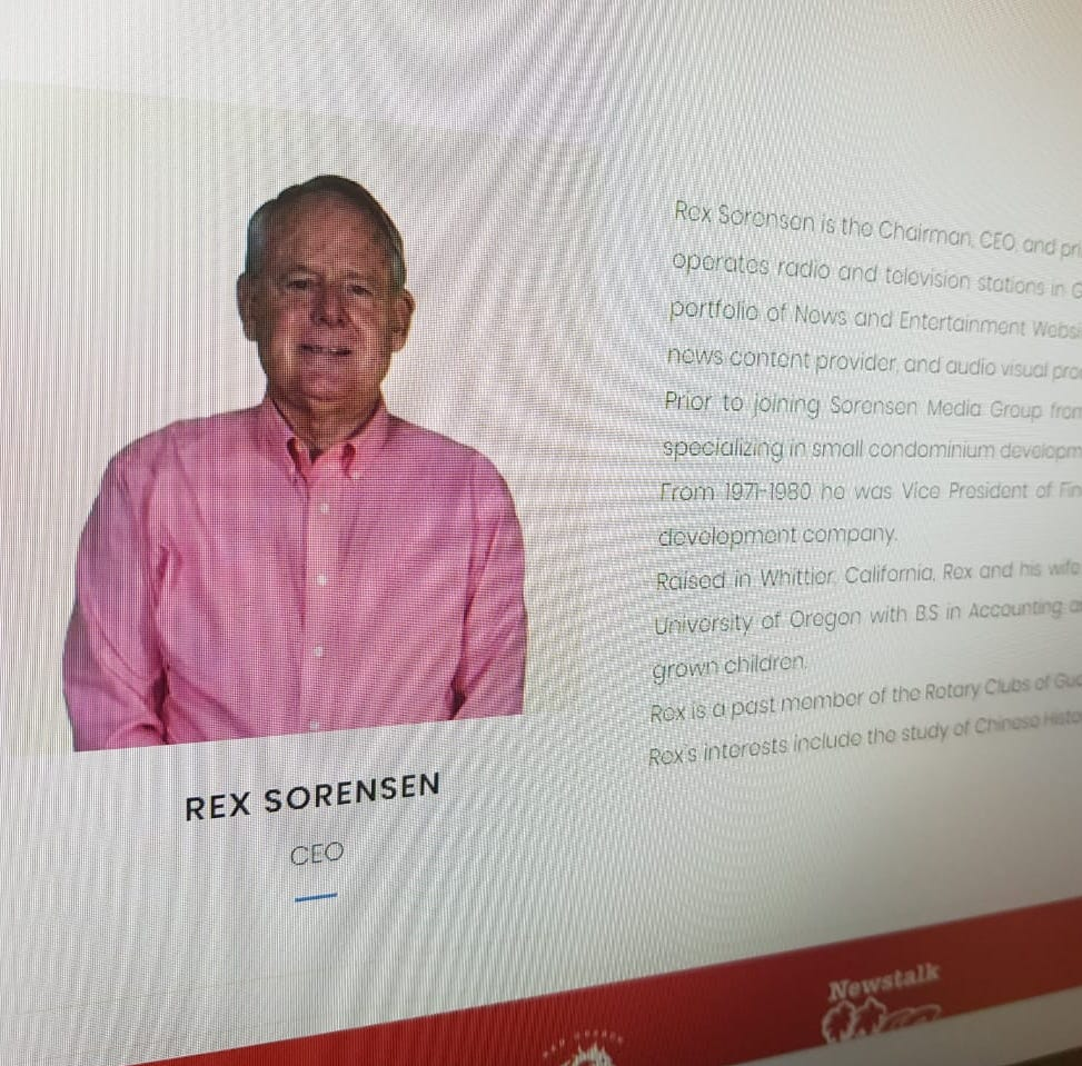 Sorensen Media Group mourns death of founder, President Rex Sorensen