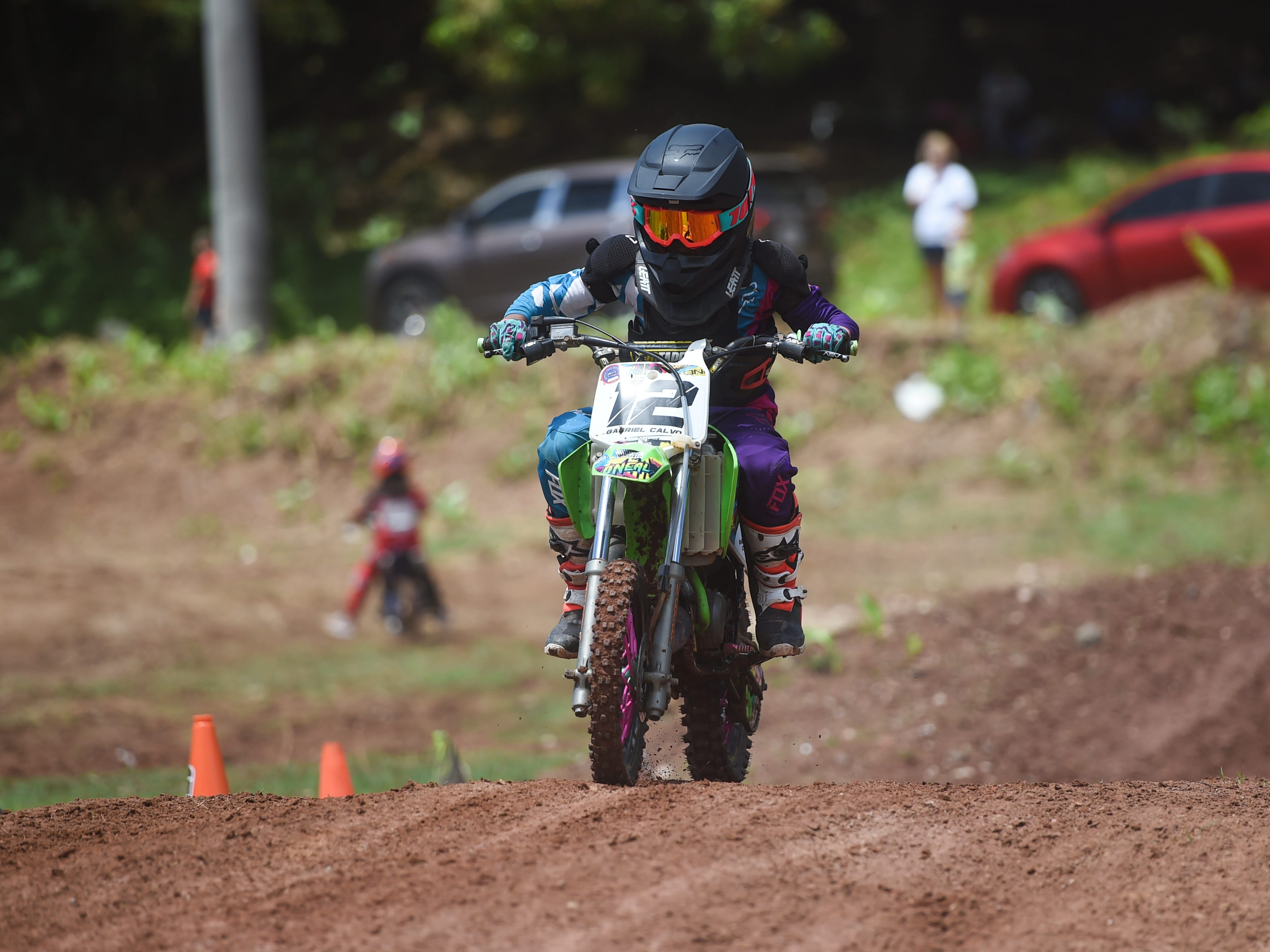 Motocross competitors compete in races during the Guam History and Chamorro Heritage Day Festival 2019 at Umatac Bay Park, March 10, 2019.