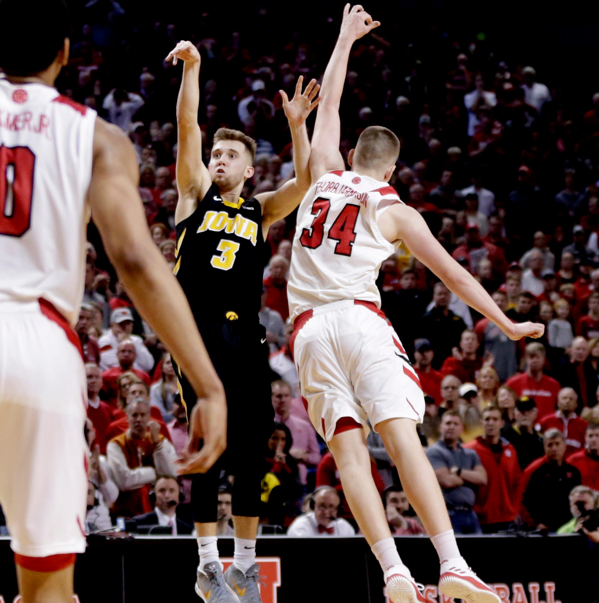 This time, Bohannon can't rescue Iowa; Nebraska surges to stunning win