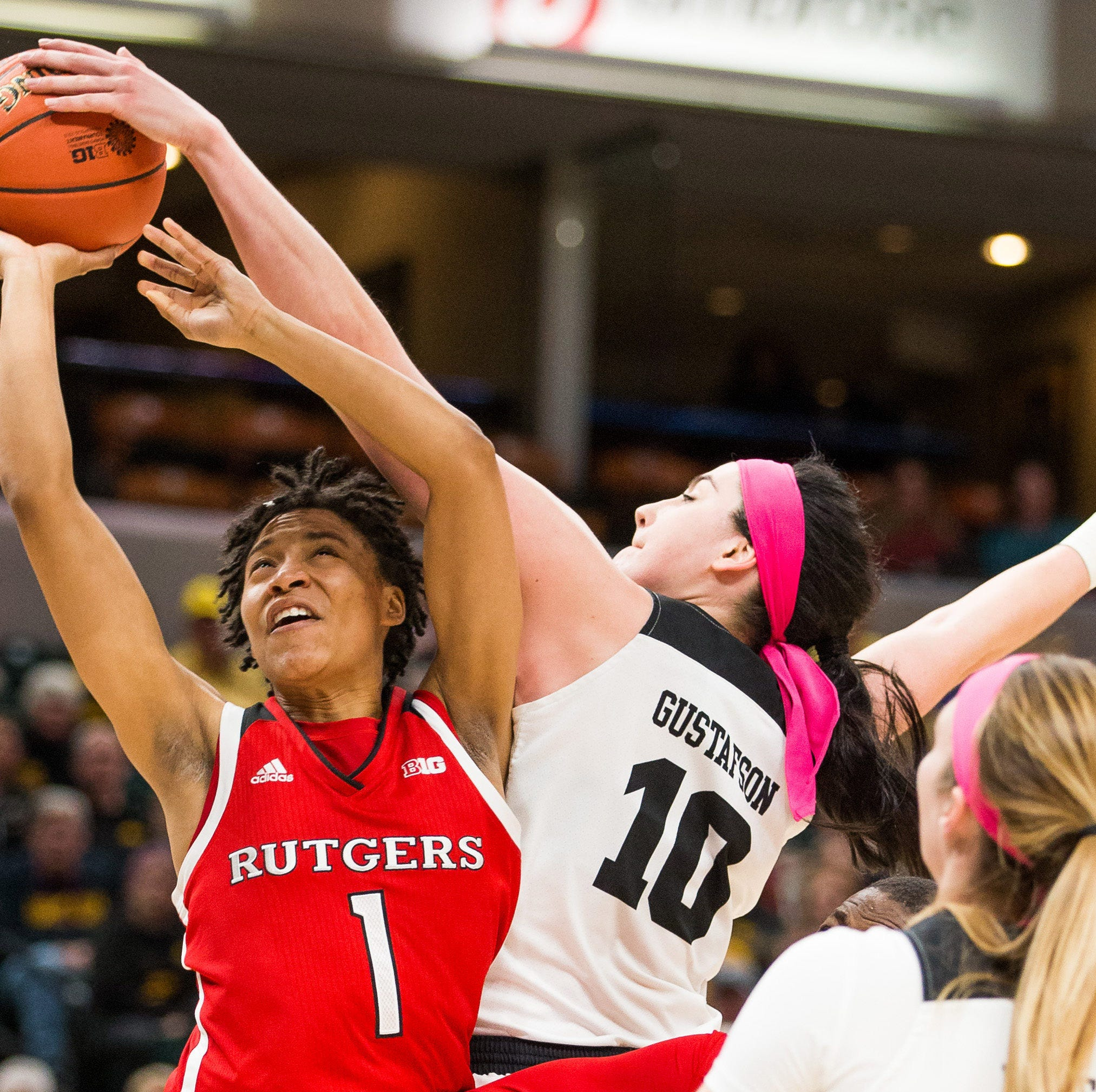 Hawkeye women survive Rutgers, 'ready' to take on Maryland for Big Ten Tournament title