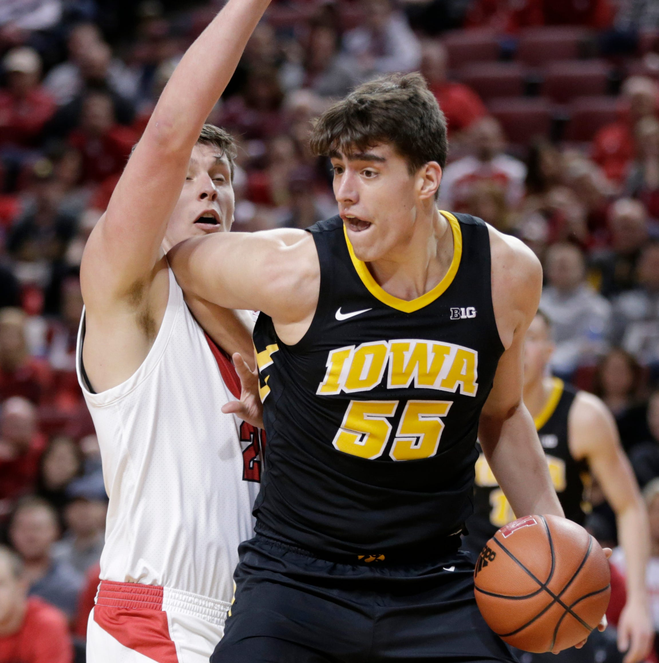 McCaffery returns to Iowa bench for brutal loss: 'Nobody's going to feel sorry for them'