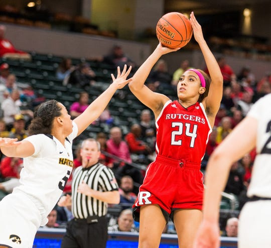 Rutgers guard Arella Guirantes has decided to return to the Scarlet Knights.