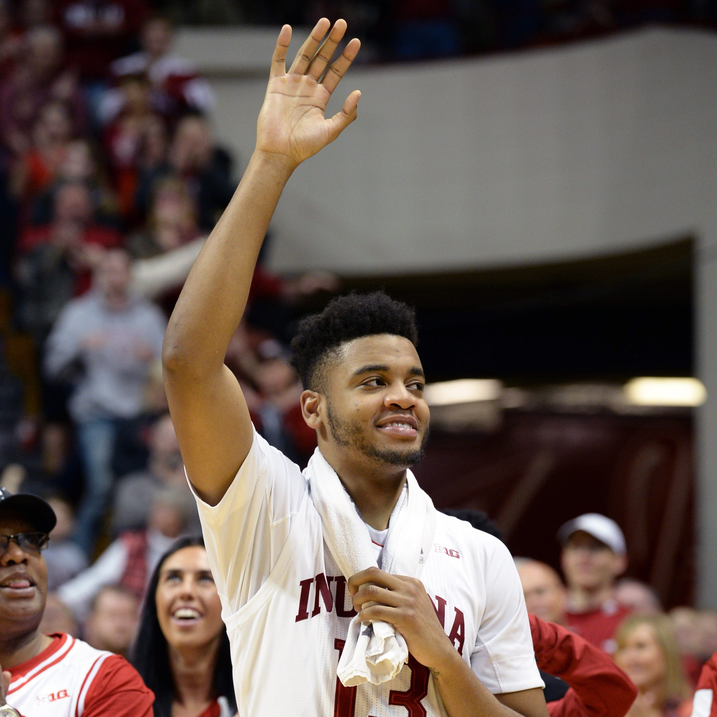 Insider: Juwan Morgan signs off in style on IU's senior day