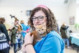 Indy Humane foster care manager Jessica Kahalos talks about the Puppy and Kitten Baby Shower fundraiser for its foster-care program on March 10, 2019.