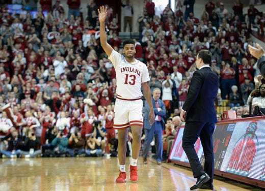 Image result for Insider: Juwan Morgan signs off in style on IU's senior day