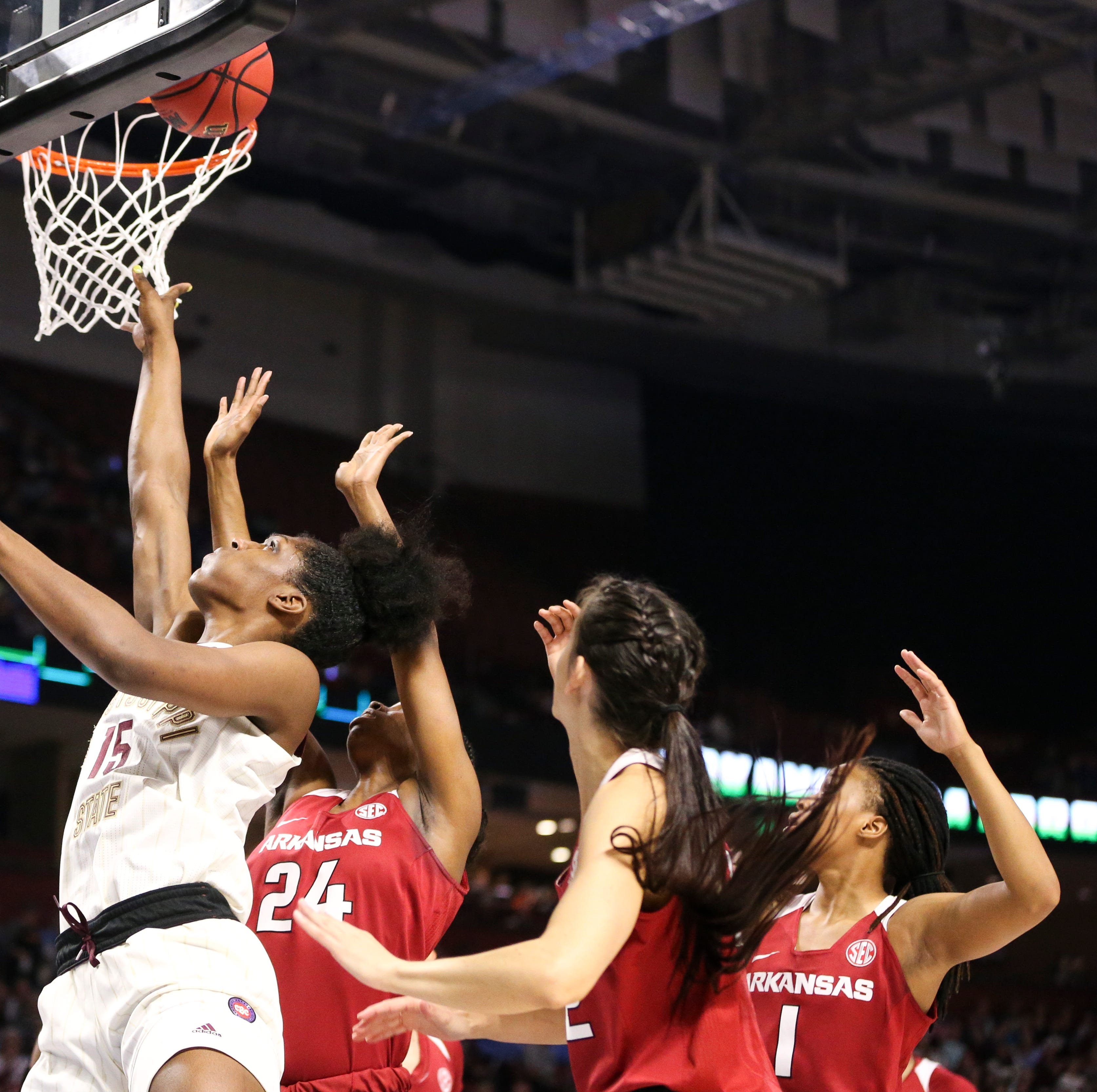 Bulldogs blow by Arkansas to earn Mississippi State's first SEC Tournament title